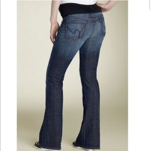 COH Maternity Kelly Bootcut Denim Jeans Belly